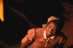 "The incomparable Butterfly McQueen as ""Prissy"" in ""Gone with the Wind."""