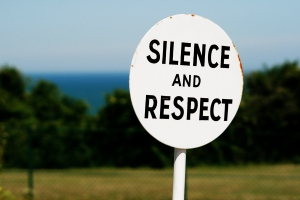 stockvault-sign-silence-and-respect131609