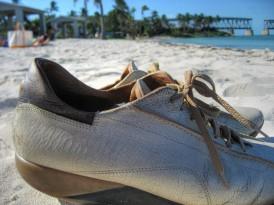 Shoes on Bahia Honda State Park, Florida, January 2007