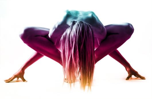 Gymnastics - The Flexible Human Body - Beautiful Woman Posing